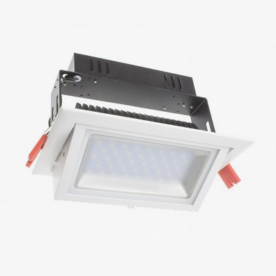 Projecteur LED Samsung 120lm/W Orientable Rectangulaire 20W FLDDR-0020 Spot LED orientable