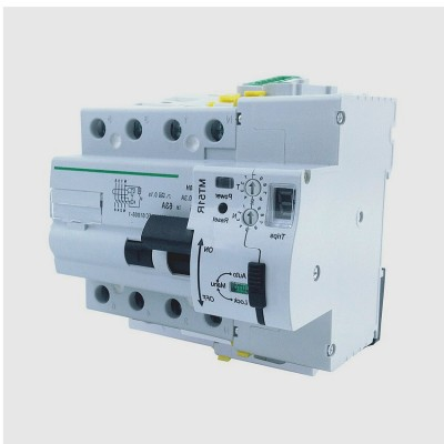 Interrupteur Différentiel Réarmable Compact 4P-30mA-10kA : SIDRA4A406330COM