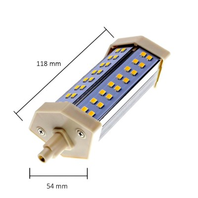 Ampoule LED R7S 10W 118mm . SJ-R7S-10W-118 R7S