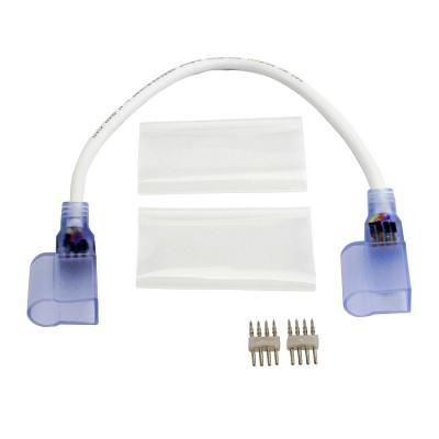 Câble Connecteur Gaine Néon LED RGB . CBL-CNTR-TR-RGB-NEON Accessoirs bobine LED