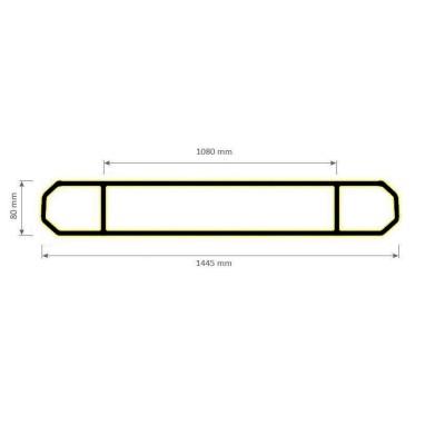 Barre Linéaire LED Magic 60W BRR-LNL-MGC-60 Barre linéaire LED