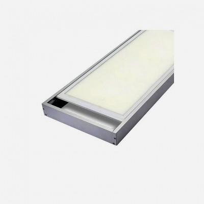 Kit en saillie pour Panneau LED 120x30 , KIT_SUP-12030 Encastrés , Kit en saillie pour panneaux