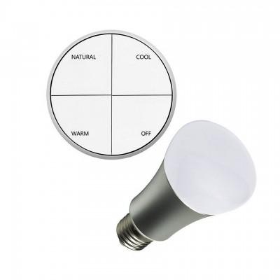 Kit Poussoir Sans Fils + Ampoule LED 8W BMBLL-PLSDR-WF Ampoule Design