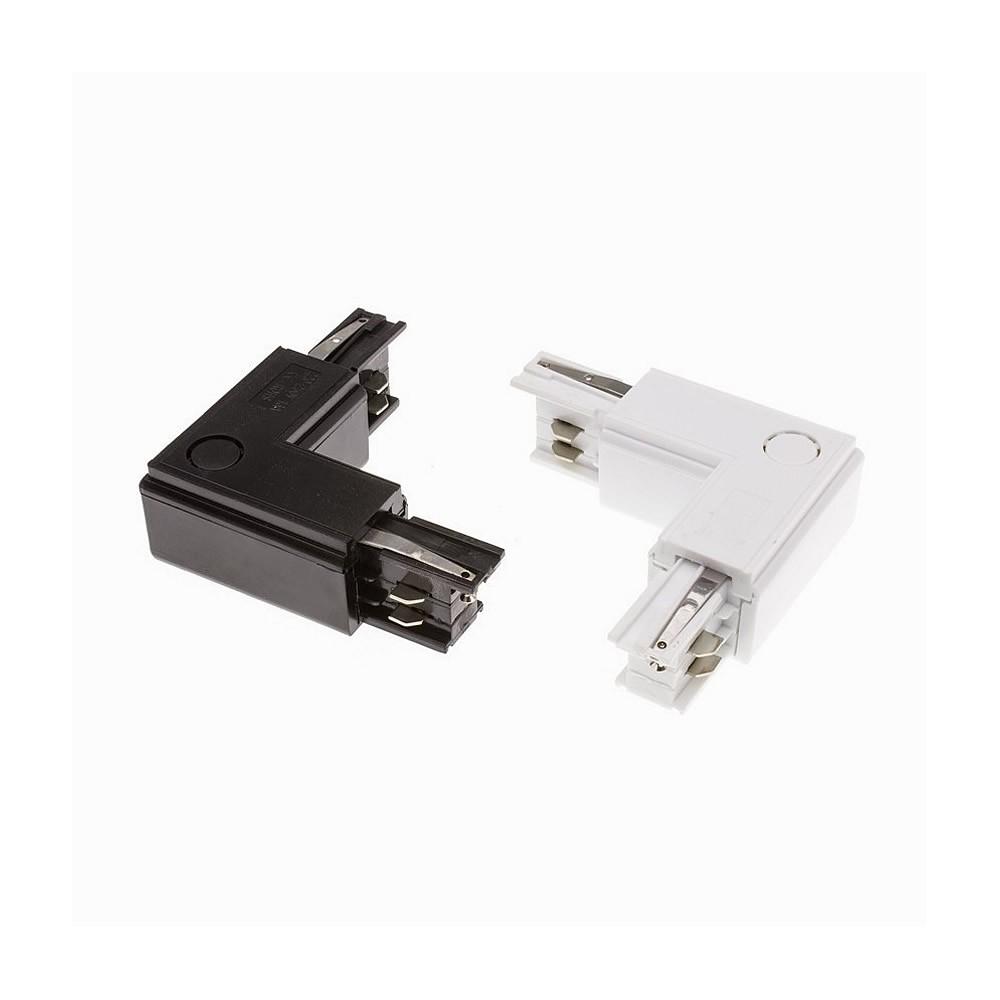 Connection 'Left Side' Type L pour Rail Triphasé CTL-CT-LS Accessoire Spot LED / Rail